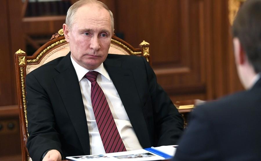 kremlin 2 xx 4 Rencontre avec le ministre de l'Éducation Sergueï Kravtsov 12 janvier 2021 13h30