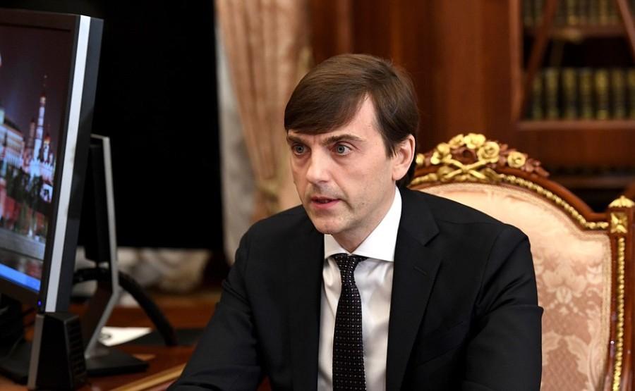 kremlin 3 xx 4 Rencontre avec le ministre de l'Éducation Sergueï Kravtsov 12 janvier 2021 13h30