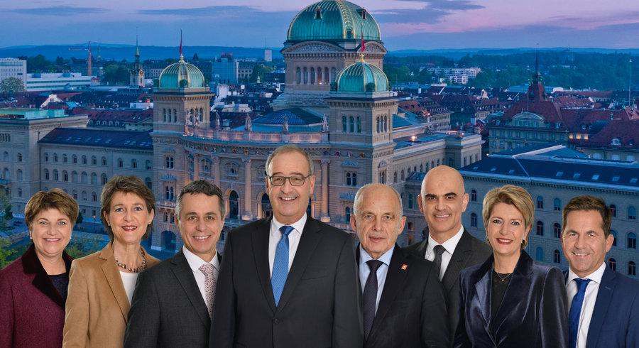 La photographie officielle du Conseil fédéral 2021. — © Chancellerie fédérale