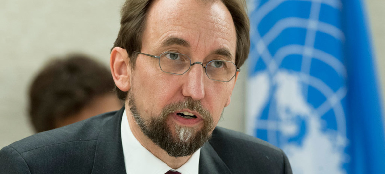 Le Haut-Commissaire des Nations Unies aux droits de l'homme, Zeid Ra'ad Al Hussein. Photo ONU-Jean-Marc Ferré