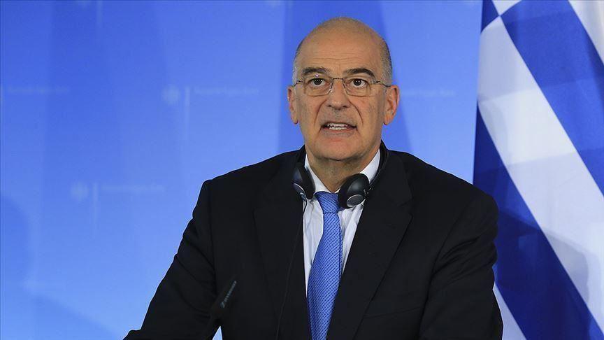 le Ministre grec des Affaires étrangères Nikos Dendias