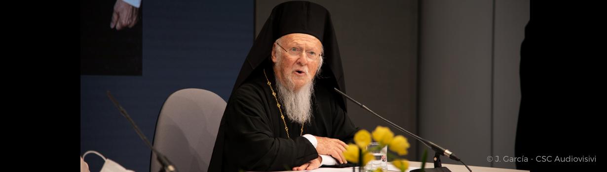 le Patriarche œcuménique de Constantinople Bartholomée