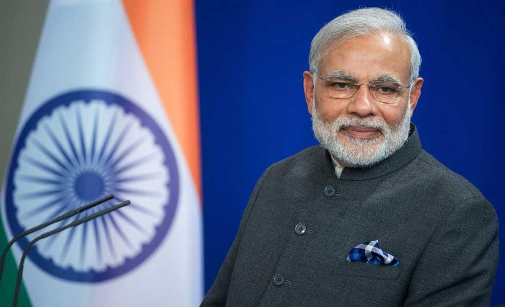 le Premier ministre de l'Inde Narendra Modi