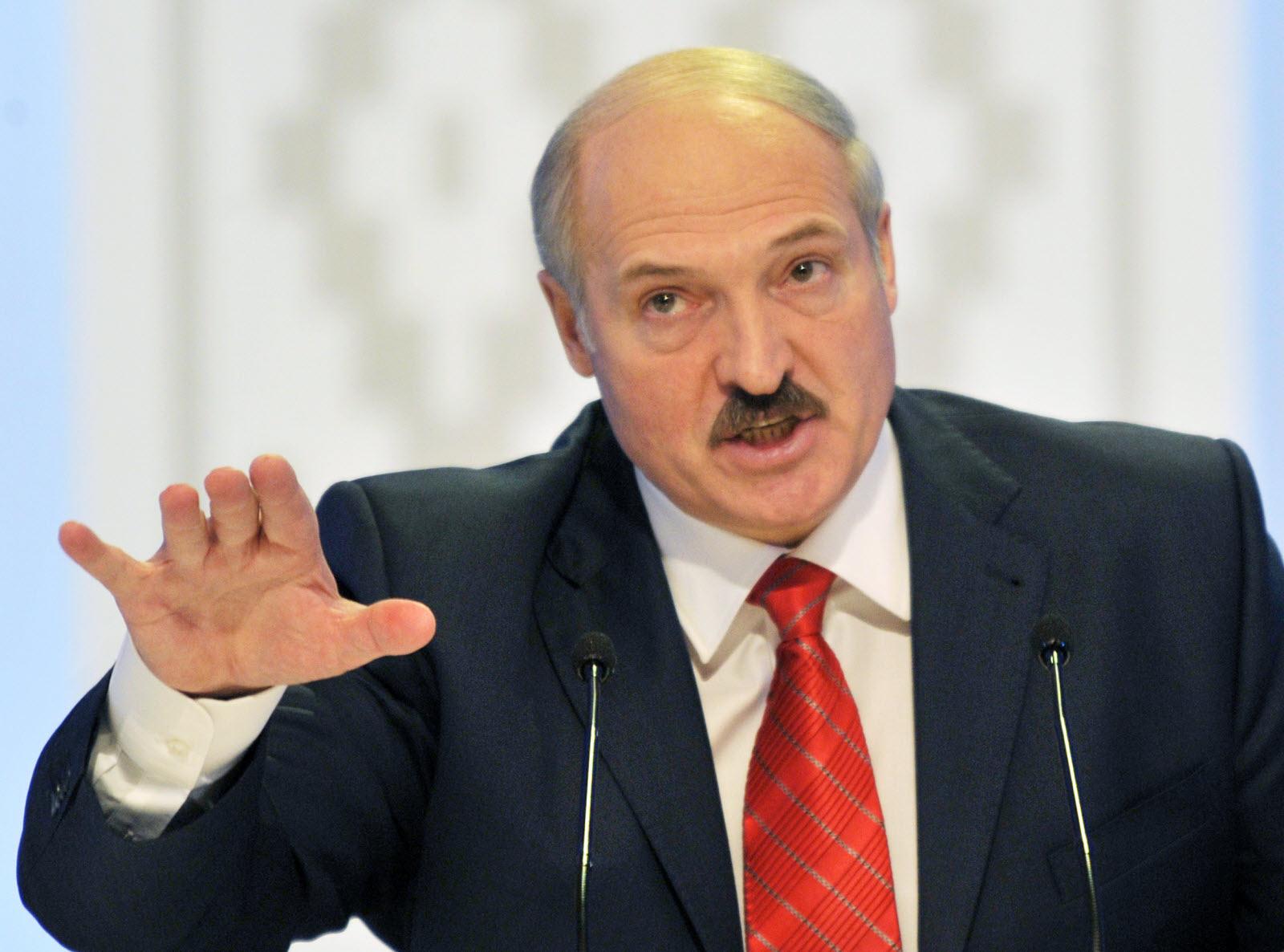 le président de la République du Bélarus, Alexandre Loukachenko.