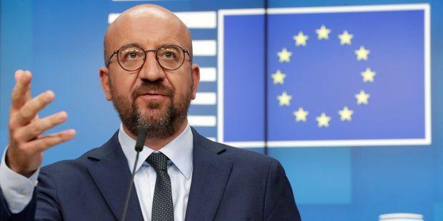 le président du Conseil européen Charles Michel.