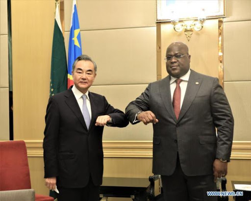 le Président Félix Tshisekedi,wang yi