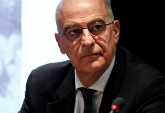 Ministre grec des Affaires étrangères, mon homologue Nikos Dendias