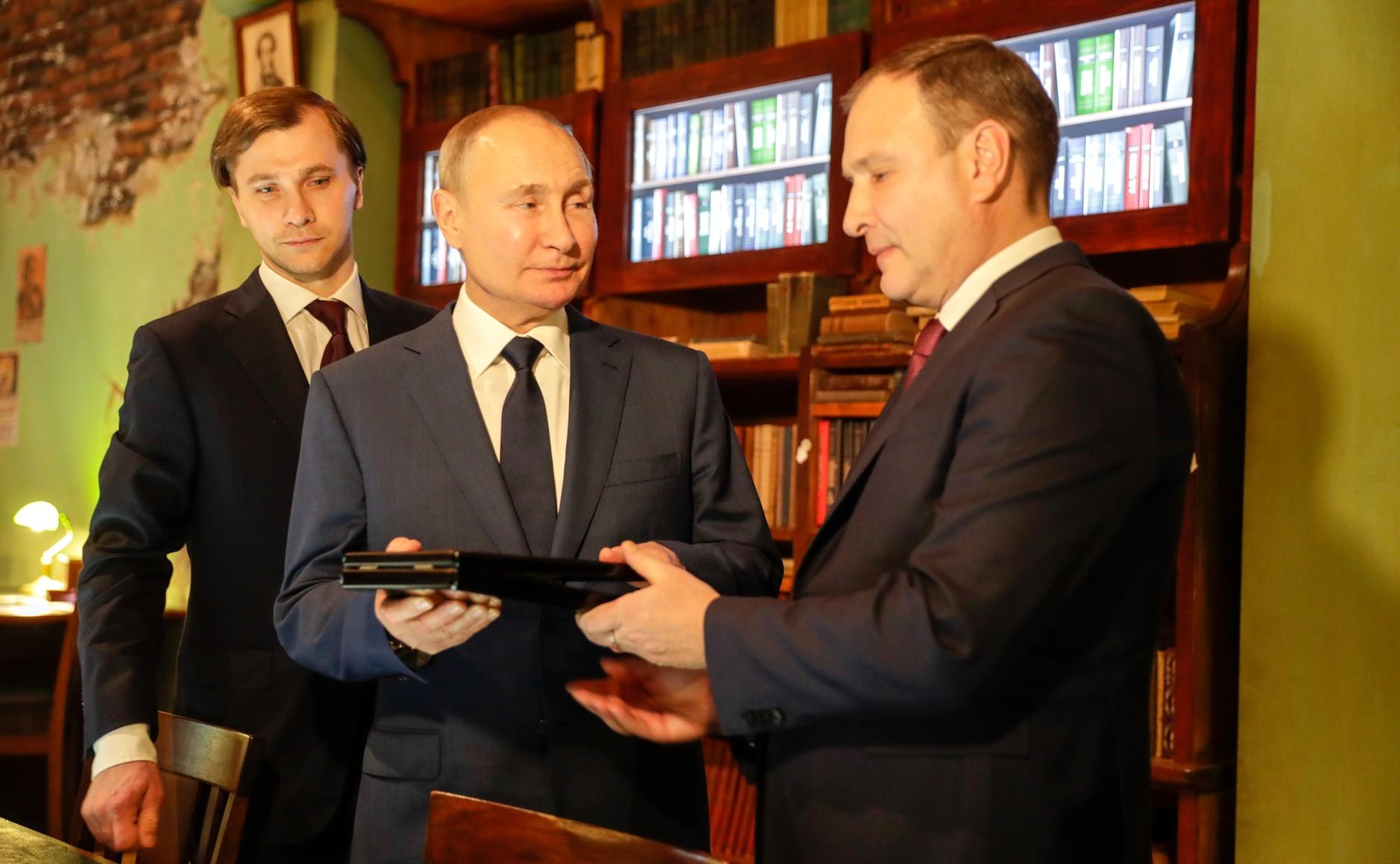 RUSSIE 10 SUR 24 Visite du musée de la victoire - 27 janvier 2021