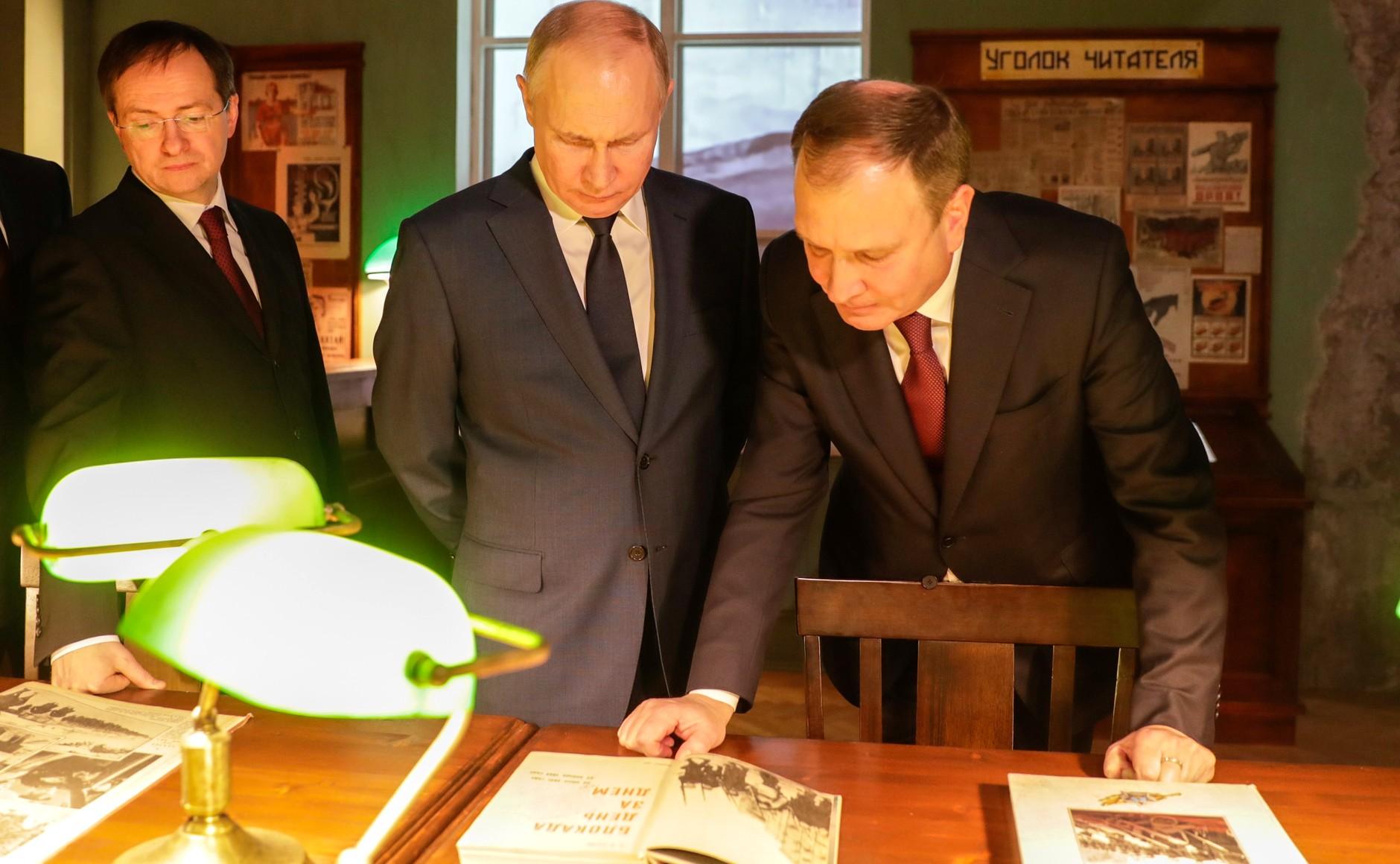 RUSSIE 12 SUR 24 Visite du musée de la victoire - 27 janvier 2021