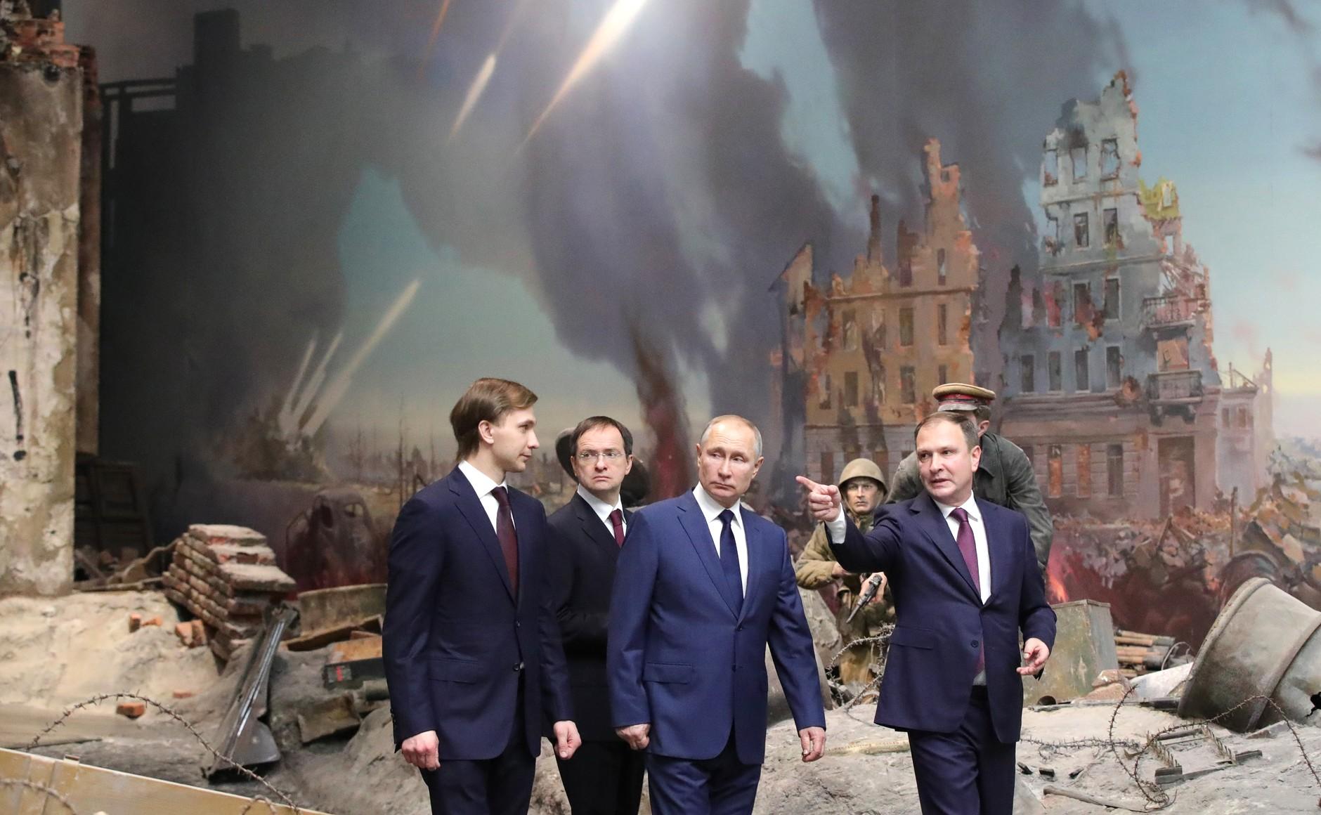 RUSSIE 14 SUR 24 Visite du musée de la victoire - 27 janvier 2021