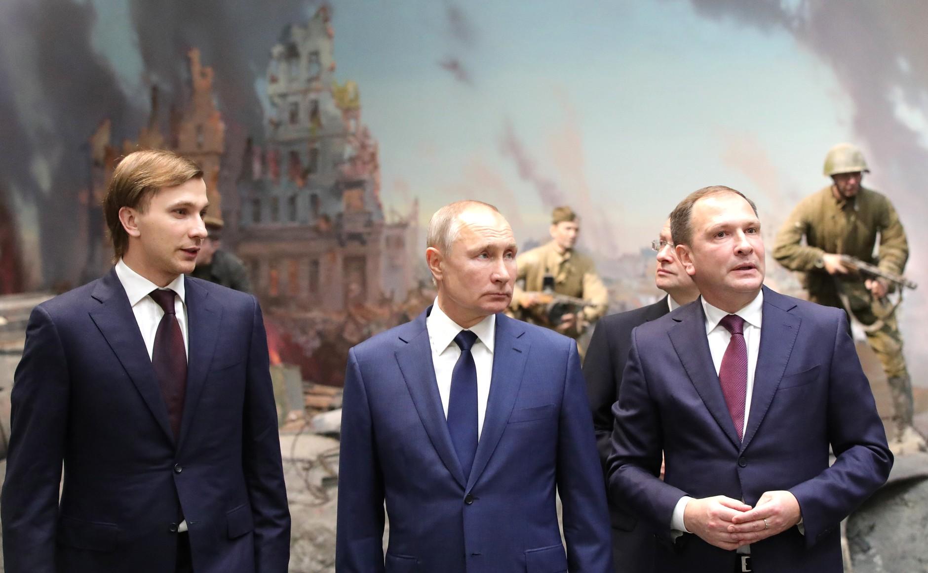 RUSSIE 15 SUR 24 Visite du musée de la victoire - 27 janvier 2021