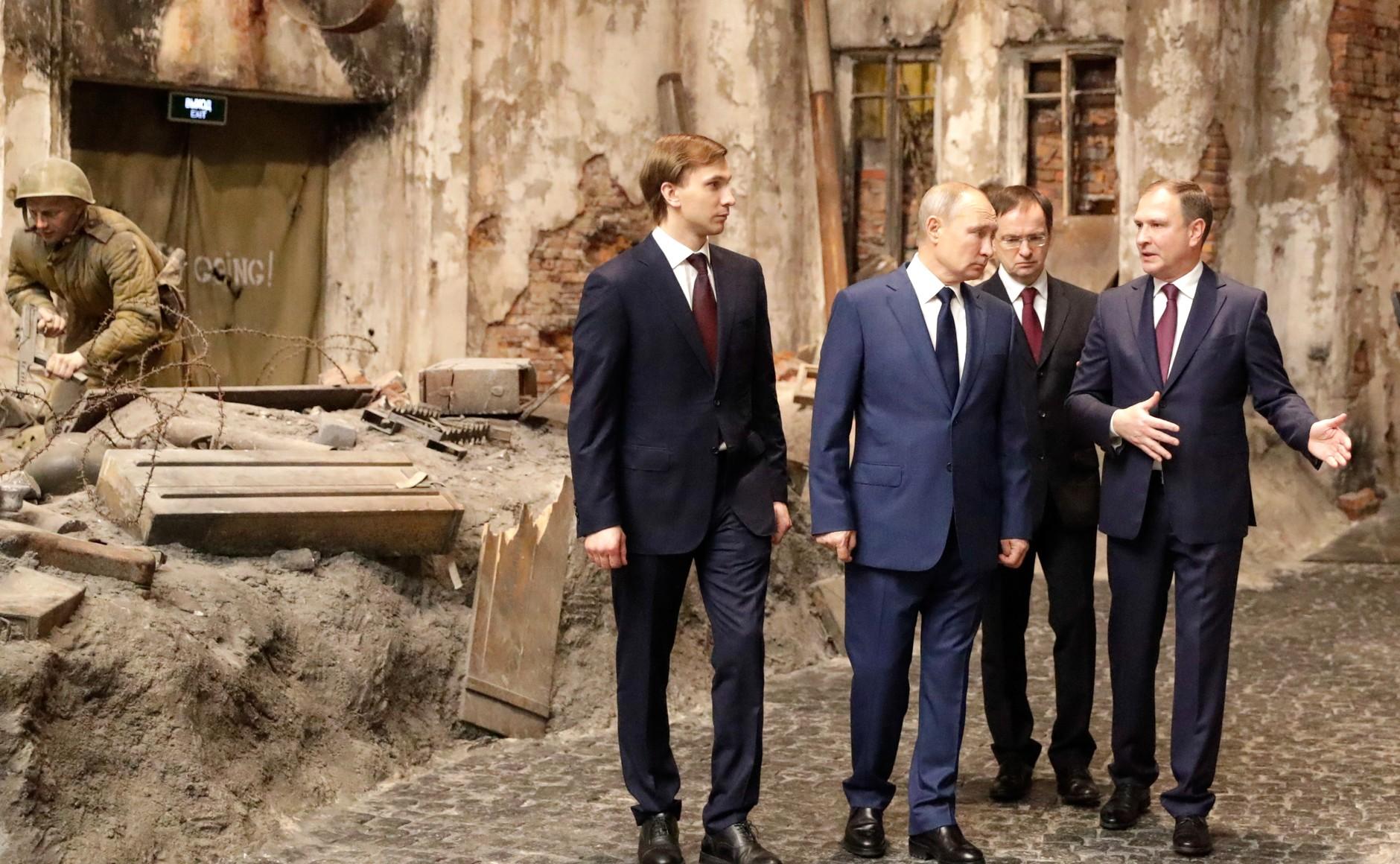 RUSSIE 17 SUR 24 Visite du musée de la victoire - 27 janvier 2021
