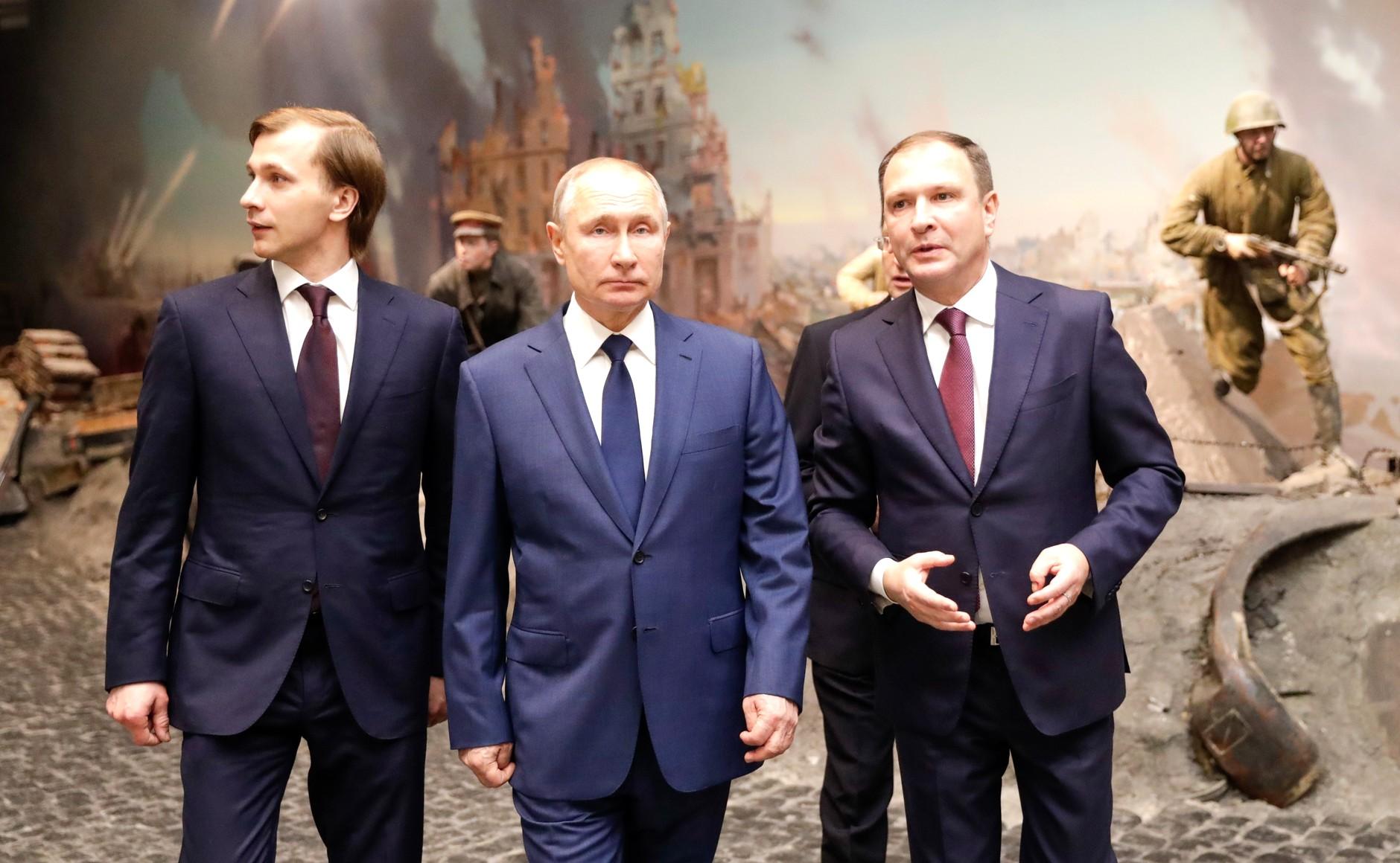 RUSSIE 18 SUR 24 Visite du musée de la victoire - 27 janvier 2021