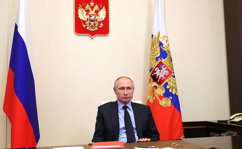 RUSSIE 2 SUR 2 Réunion avec les membres permanents du Conseil de sécurité 22 janvier 2021