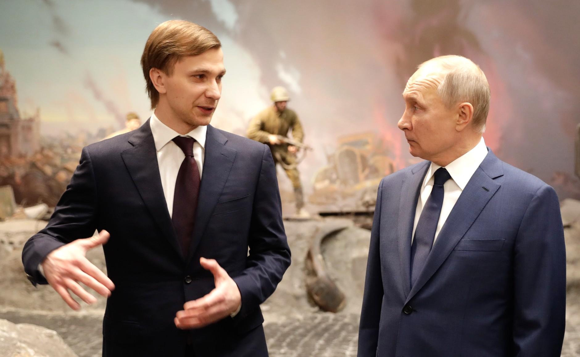 RUSSIE 20 SUR 24 Visite du musée de la victoire - 27 janvier 2021