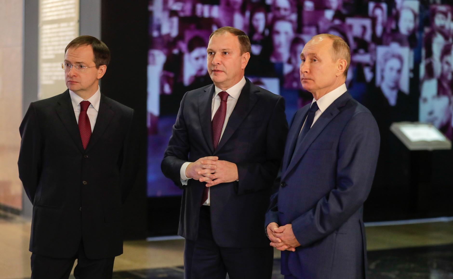 RUSSIE 3 SUR 24 Visite du musée de la victoire - 27 janvier 2021