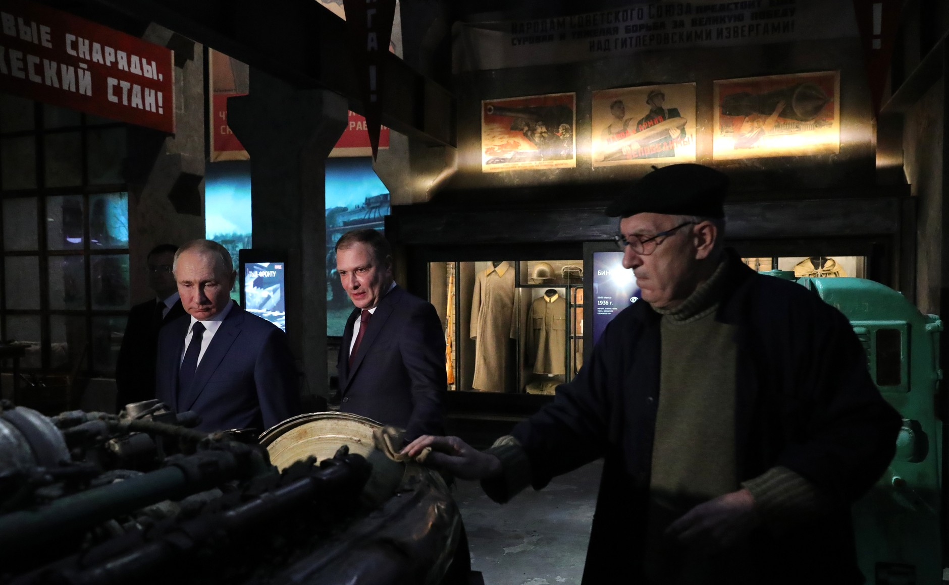 RUSSIE 6 SUR 24 Visite du musée de la victoire - 27 janvier 2021