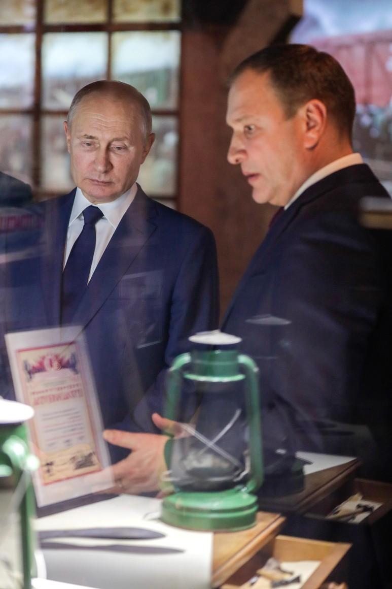 RUSSIE 8 SUR 24 Visite du musée de la victoire - 27 janvier 2021