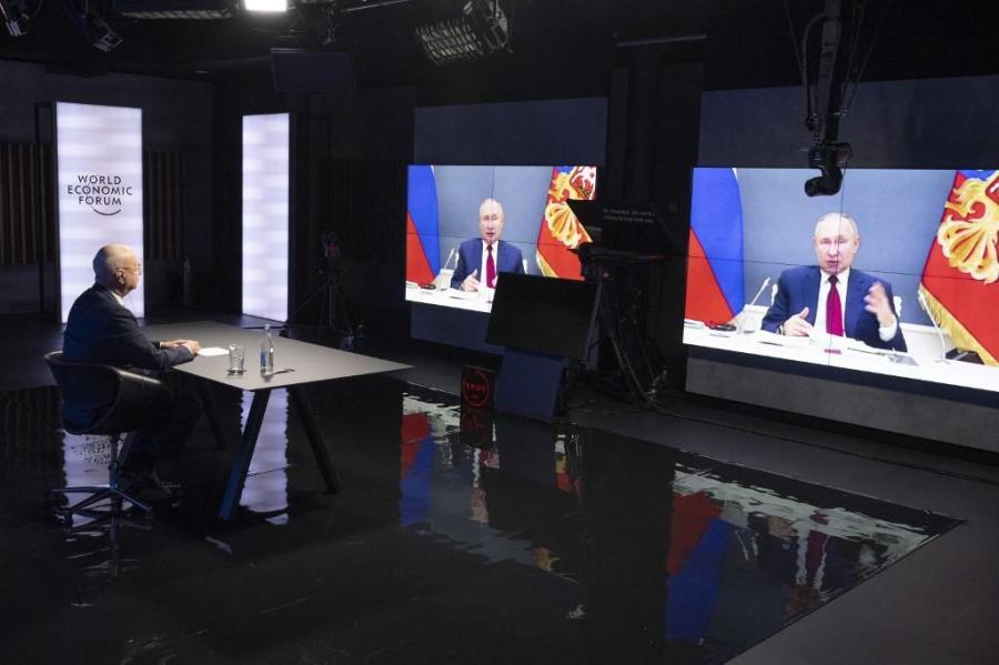 RUSSIE DAVOS 2021