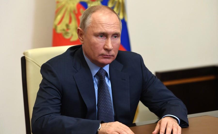 RUSSIE GAZPROM 4 XX 4 Rencontre avec Alexei Miller, PDG de Gazprom - 19 janvier 2021