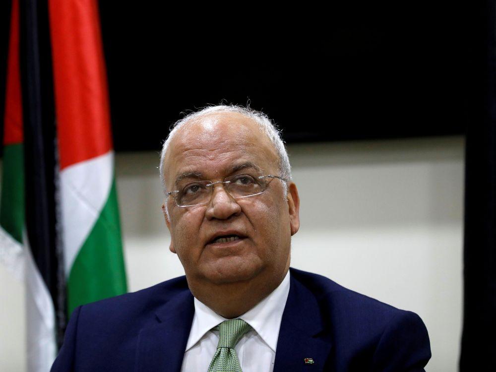 Saeb Erekat, négociateur palestinien décédé