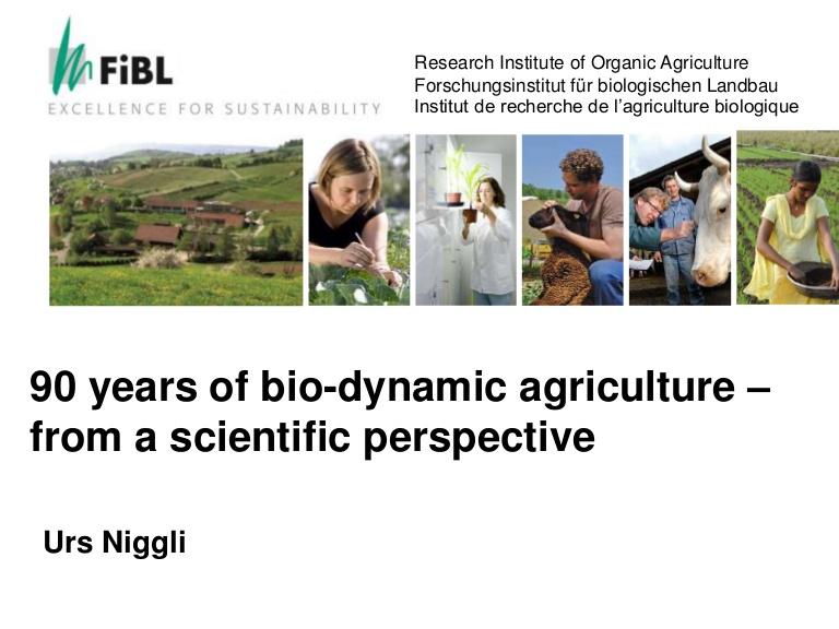 Urs Niggli, ancien directeur de l'Institut de recherche de l'agriculture biologique (FiBL). 3