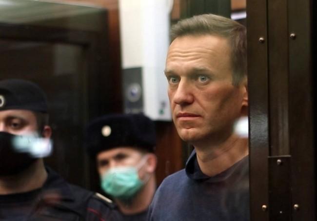 Alexeï Navalny lors de son procès. Photo © Moscow City Court Press Office T SIPA