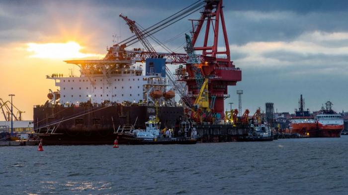 © Jens Bttner - BELGAIMAGE navire russe pose pipeline