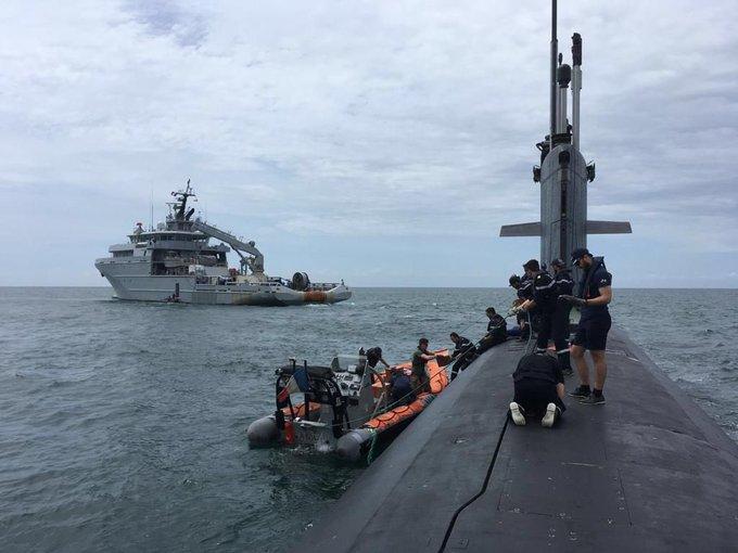 deux bâtiments de la marine française ont récemment mené une mission de « liberté de navigation » en Mer de Chine méridionale