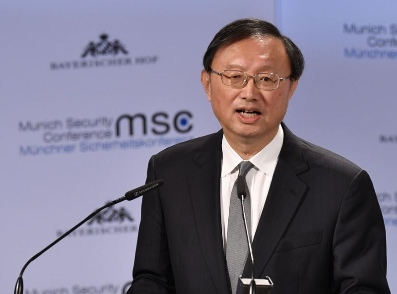 Directeur du Bureau de la Commission des Affaires étrangères du Comité central du PCC Yang Jiechi