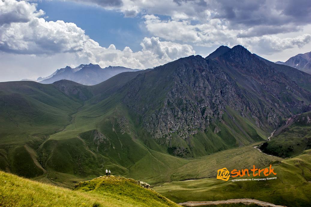 eau minérale dans le Caucase du Nord.