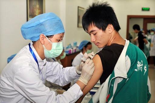 en Chine la vaccination a déjà commencé