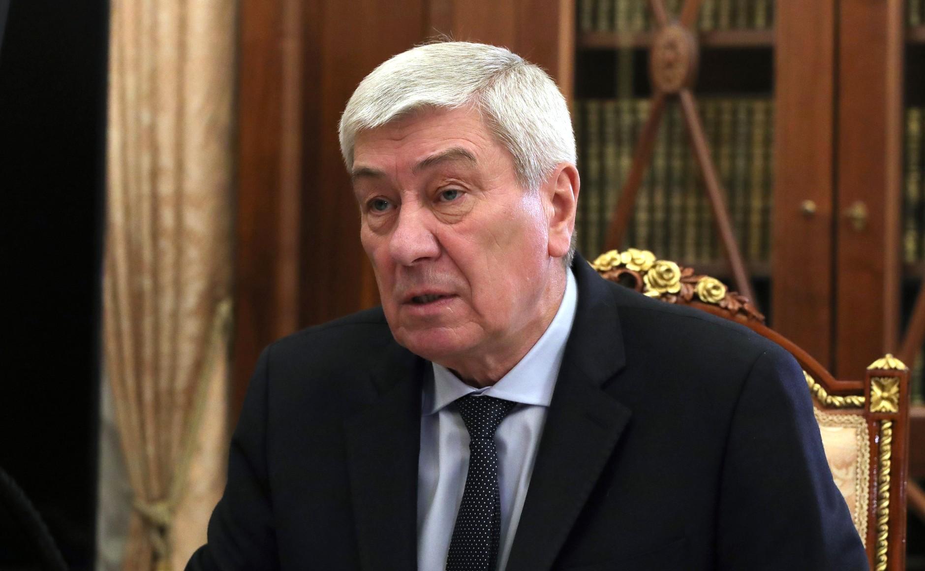 FINANCE SURVEILLEE 2 SUR 3 Rencontre avec le chef du Service fédéral de surveillance financière Yury Chikhanchin 19.02.2021