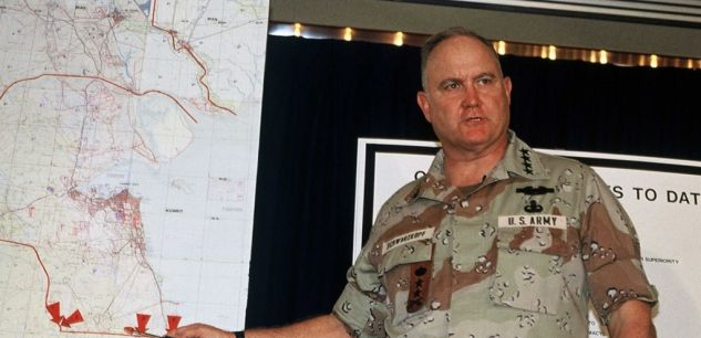 général américainNorman Schwarzkopf.