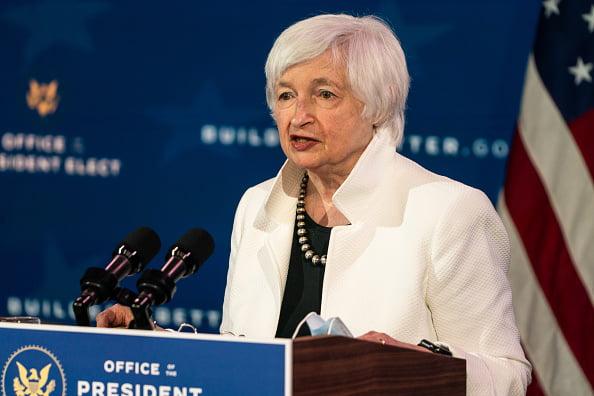 la Secrétaire américaine au Trésor Janet L. Yellen