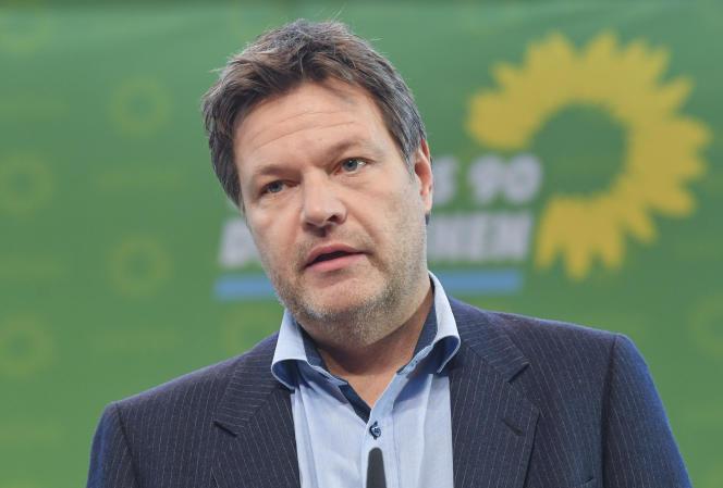 L'autre chef du parti des verts, M.Robert Habeck,