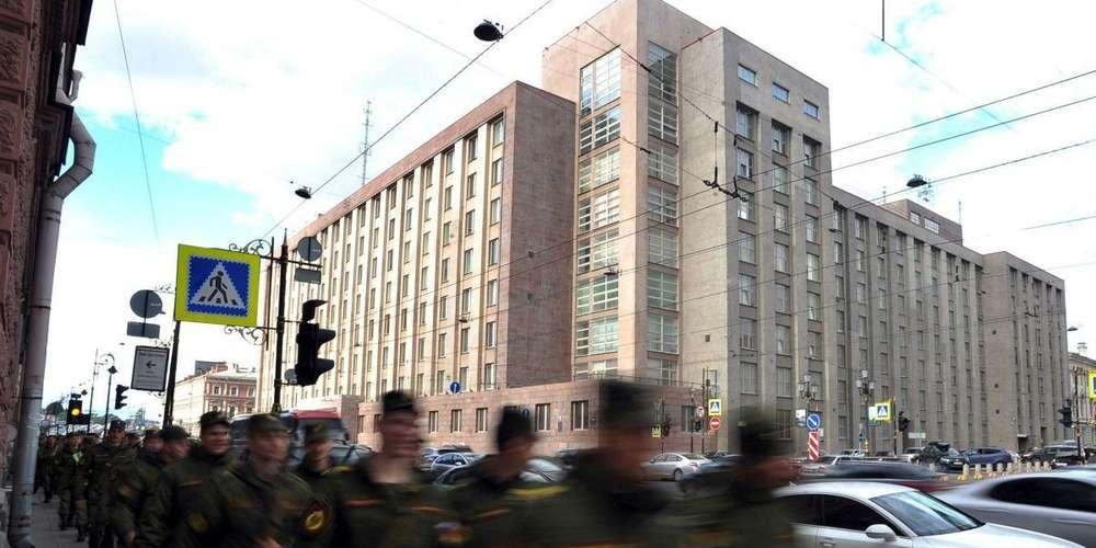 le-quartier-general Le quartier général du FSB (l'ancien KGB) à Moscou, situé à quelques centaines de mètres de la Place rouge. © Crédit photo OLGA MALTSEVA AFP