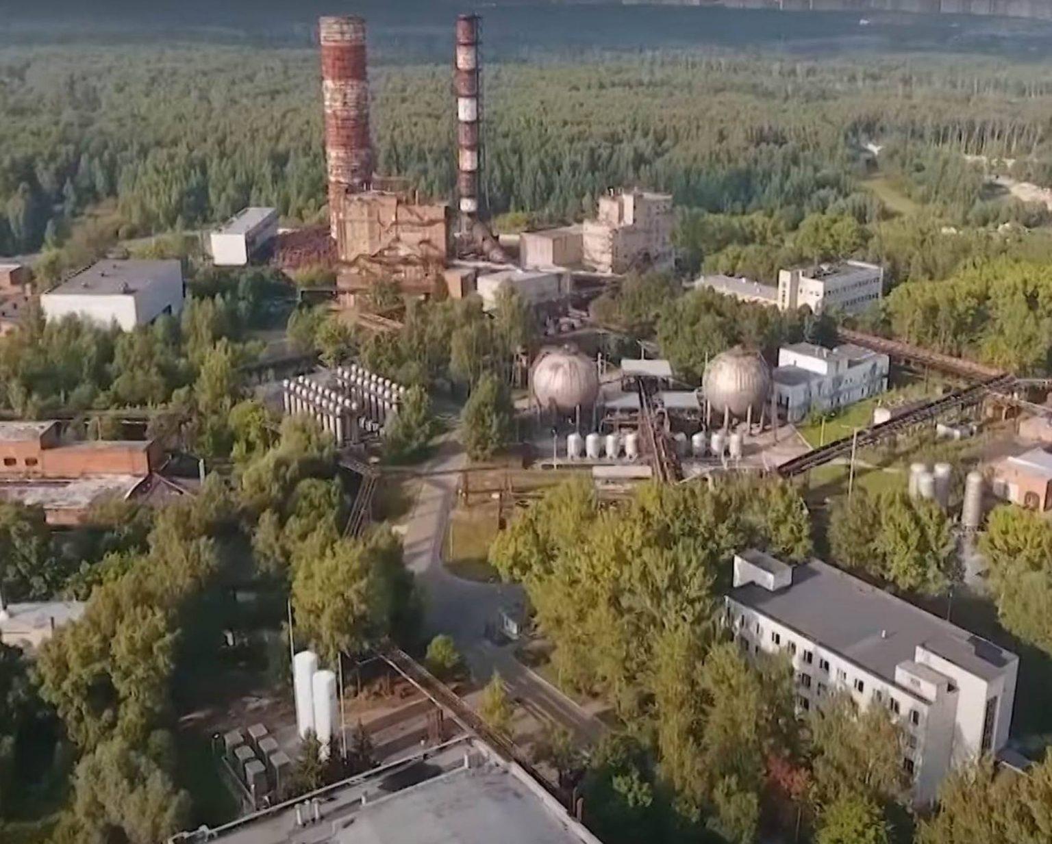 Le site d'essai des moteurs expérimentaux d'Energomash dans la banlieue de Moscou.