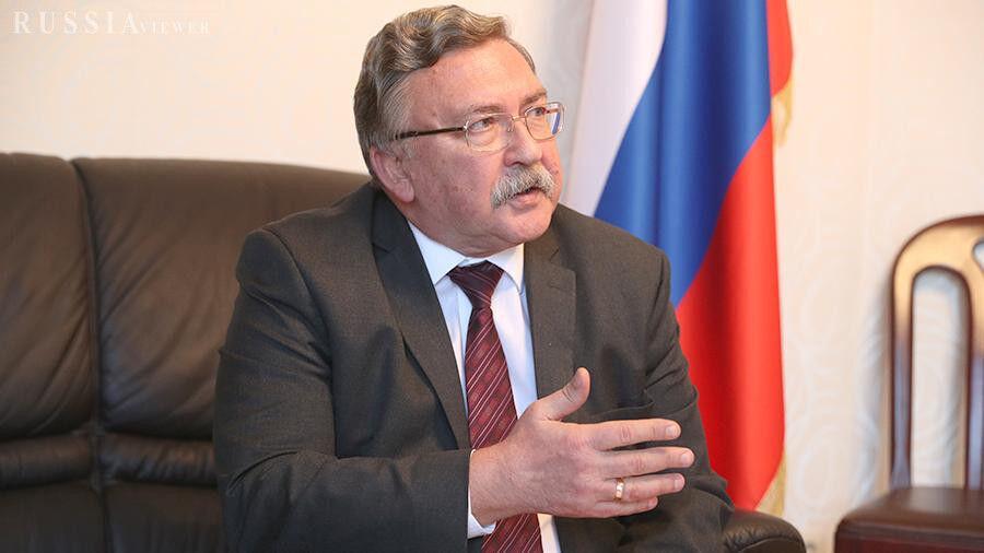 Londres - IRNA - Le représentant de la Russie auprès des organisations internationales à Vienne, Mikhail Ulyanov,