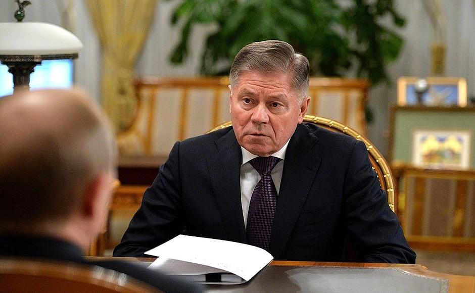 M. Lebedev de la Cour suprême de Russie