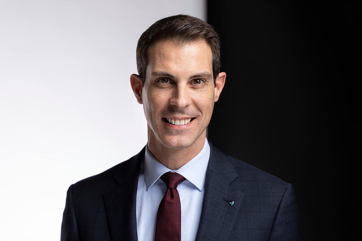 M.Thierry Burkart,membre du Conseil aux Etats (il y représente le canton d'Argovie)