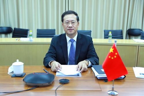 Ma Zhaoxu, Vice-Ministre des Affaires étrangères et Coordinateur chinois pour les affaires des BRICS