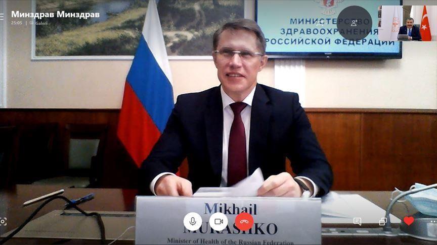 Ministre de la santé Mikhail Murashko