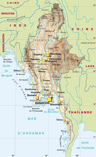 pays voisin et ami du Myanmar