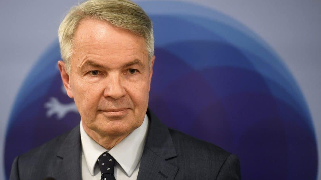Pekka Haavisto Ministre des Affaires étrangères de la Finlande