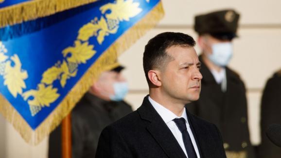 Président ukrainien Volodymyr Zelensky