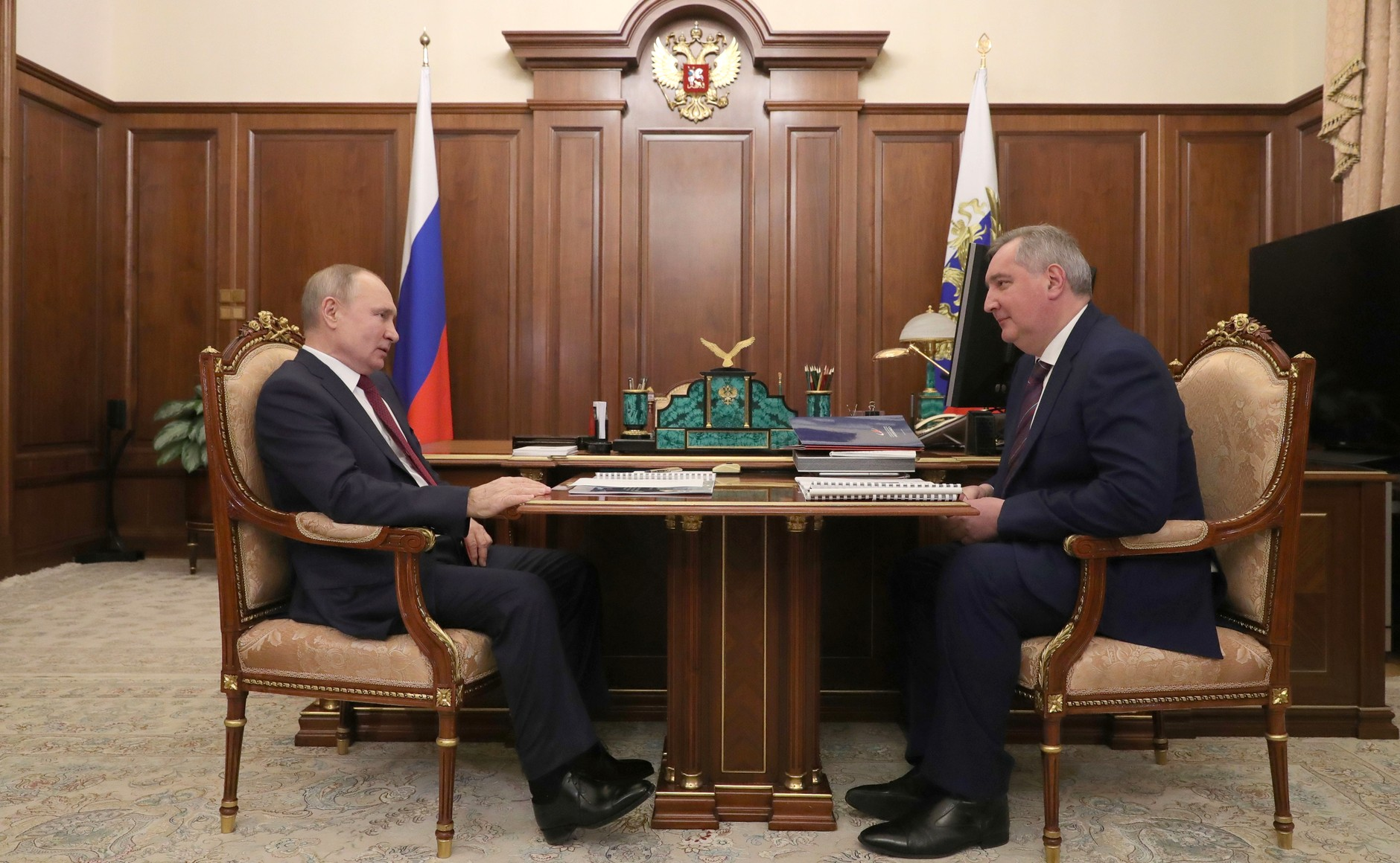 ROSCOSMOS 1 SUR 3 Rencontre avec le chef de Roscosmos Dmitry Rogozin 20.02.2021