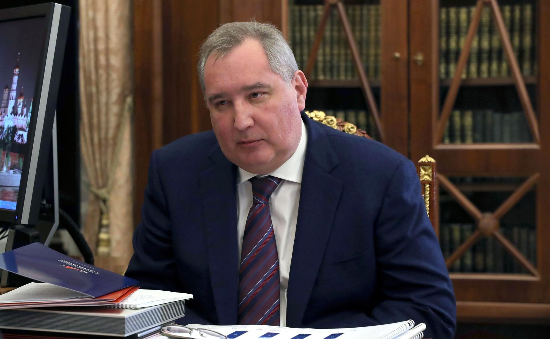 ROSCOSMOS 2 SUR 3 Rencontre avec le chef de Roscosmos Dmitry Rogozin 20.02.2021