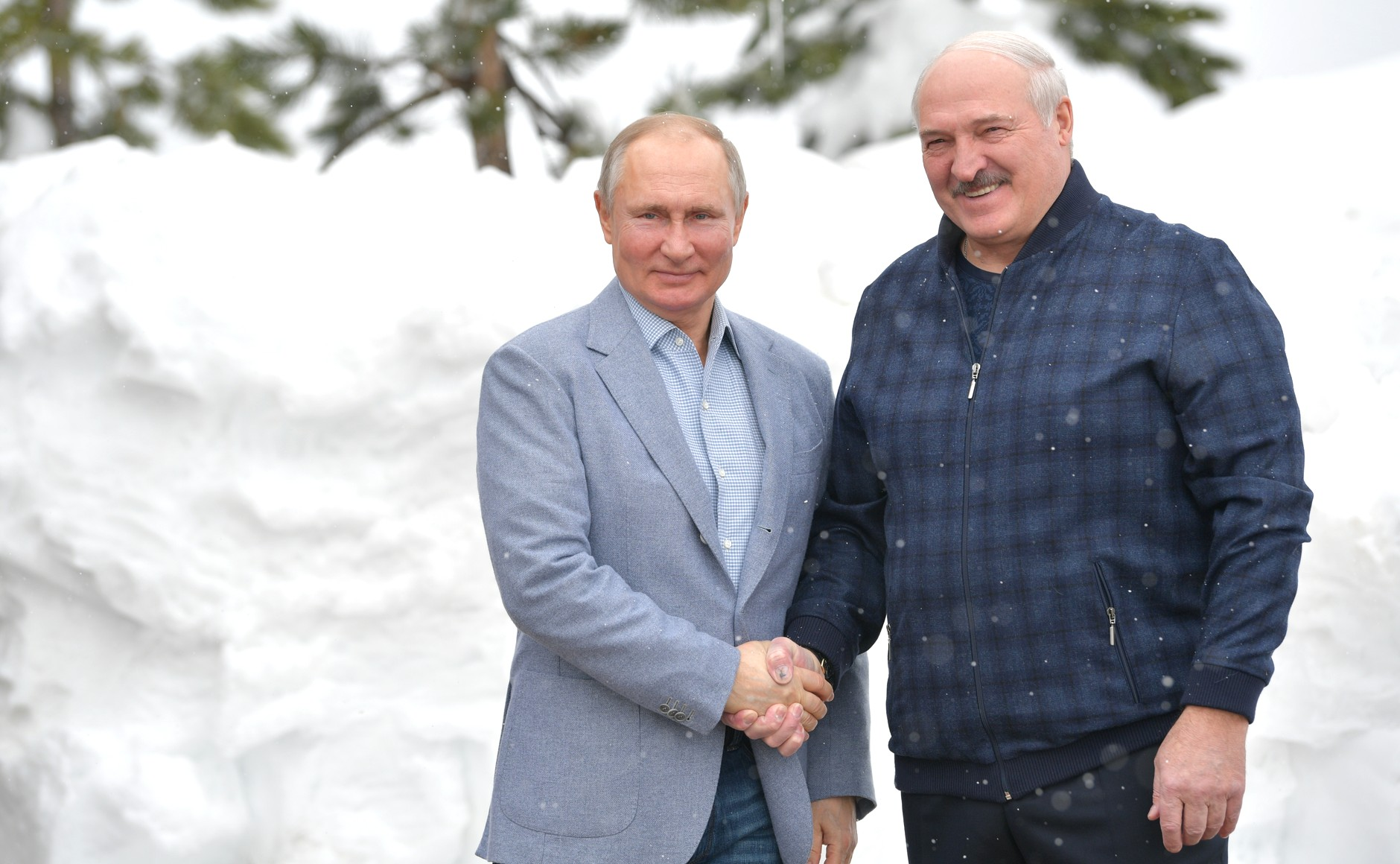 RUSSIE BIELORUSSIE 2 XX 9 Rencontre avec le président de la Biélorussie Alexander Lukashenko 22.02.2021...