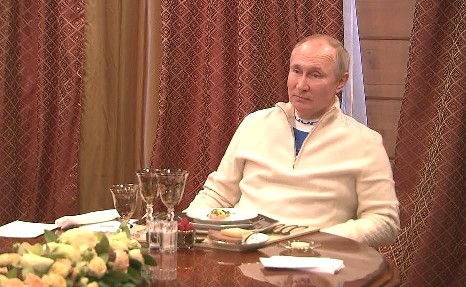 RUSSIE BIELORUSSIE 9 XX 9 Rencontre avec le président de la Biélorussie Alexander Lukashenko 22.02.2021